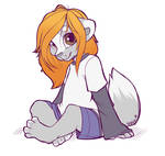 Sitting Neko - Doodle