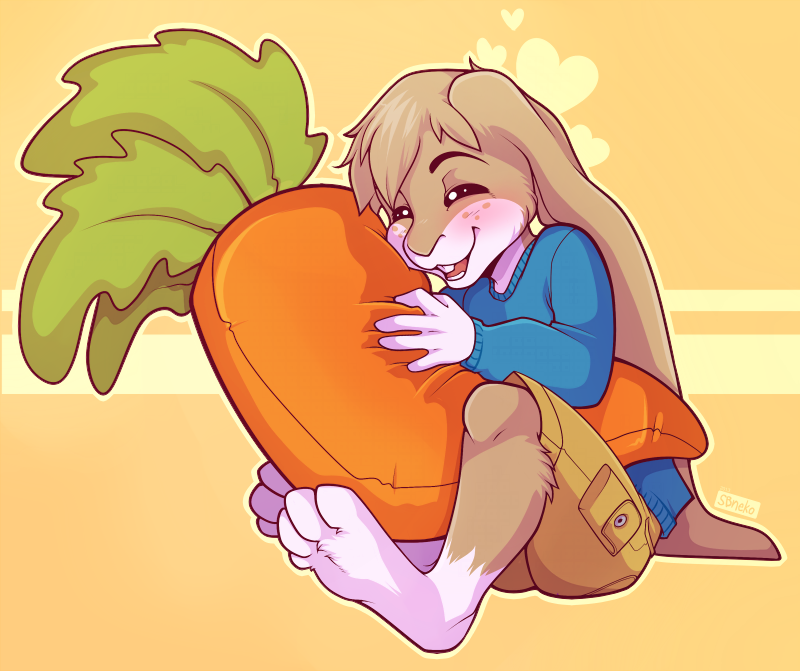 Carrot Plush! - Commission by strawberryneko33