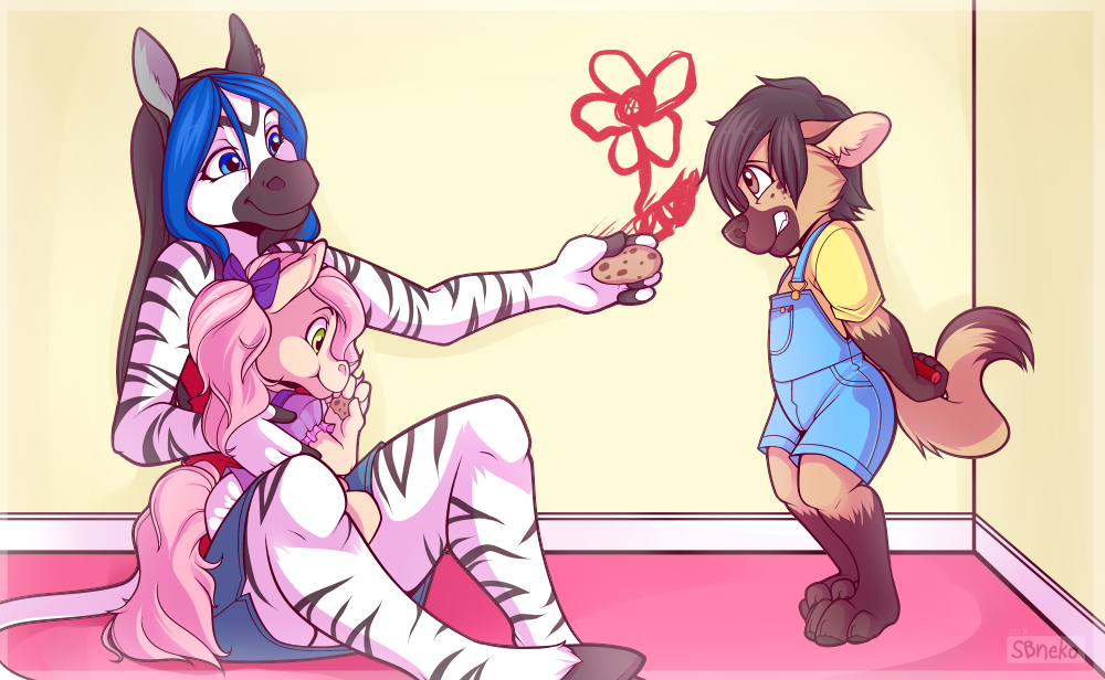 Busted! - Commission by strawberryneko33