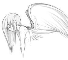 Angel by sbneko