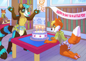 Happy Birthday - Commission by sbneko