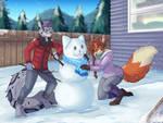 Snow Mew - Commission