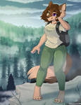 Foggy Forest - Commission