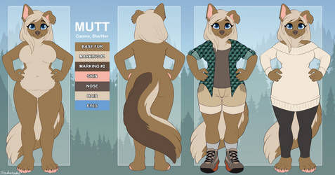 Mutt Reference Sheet - Commission