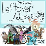 (OPEN) Leftover Adoptables Raffle, Free to Enter! by OhDeeryMeee