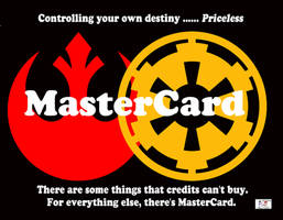 Star Wars - MasterCard by TheSnowman10