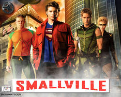 Justice League - Smallville 3 by TheSnowman10