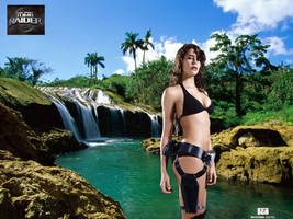 Lara Croft - Wet and Wild II by TheSnowman10