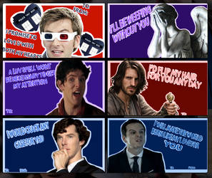 BBC Valentines day cards by Maygirl96