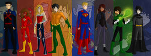 The Justice League Of Olympus!