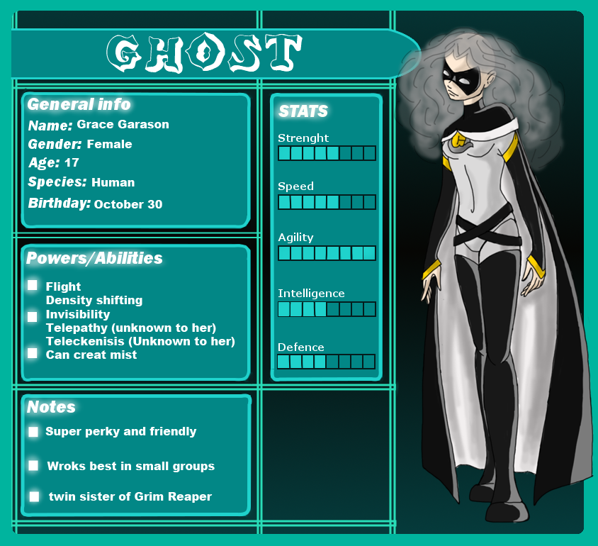 Ghost Application by Maygirl96 on DeviantArt