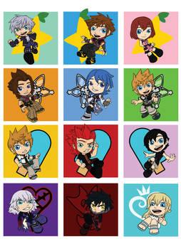 Kingdom Hearts Chibis