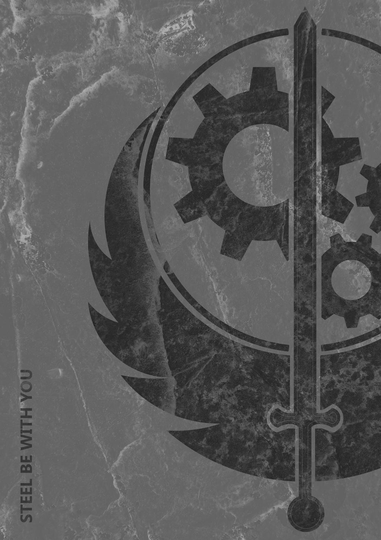 fallout 3 brotherhood of steel by vaelj on deviantart