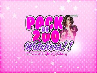 +Pack de 200 Watchers!! by DreamLigthsOfAny