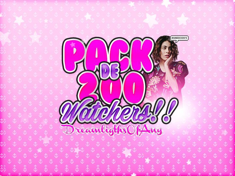 +Pack de 200 Watchers!!