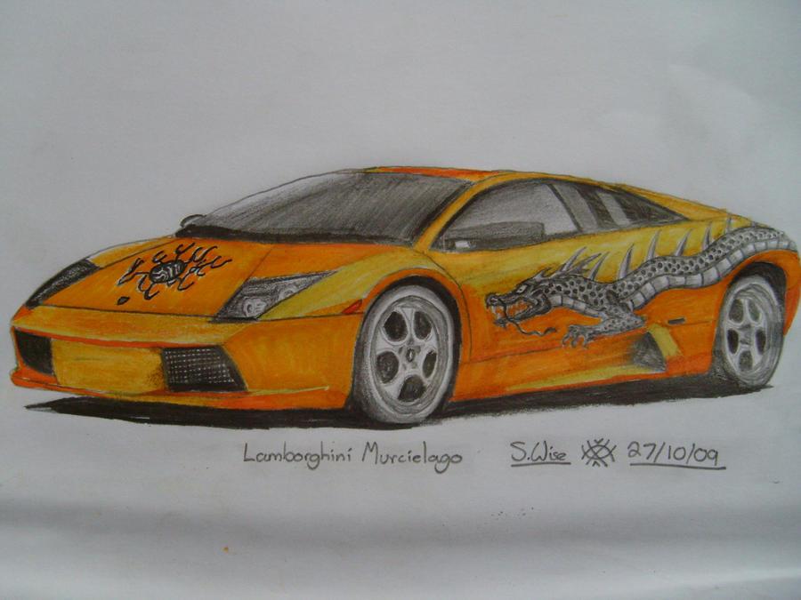 Lamborghini Dragon Drawing Ialoveni Info
