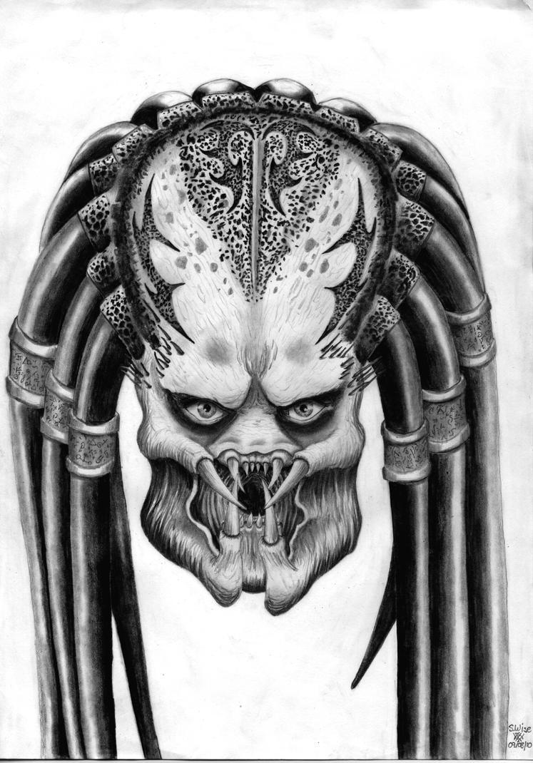 Predator Head by Glaiceana on DeviantArt