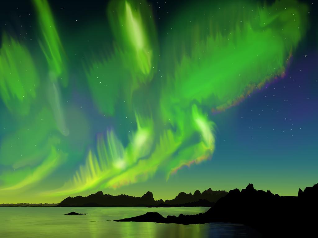 Gallery For > Aurora Borealis In
