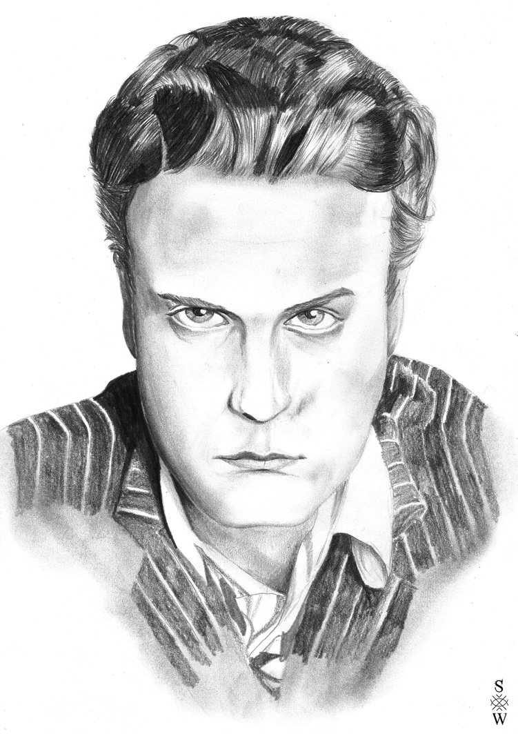 Andrew Gower (Present for Ookami-Seishin) by Glaiceana
