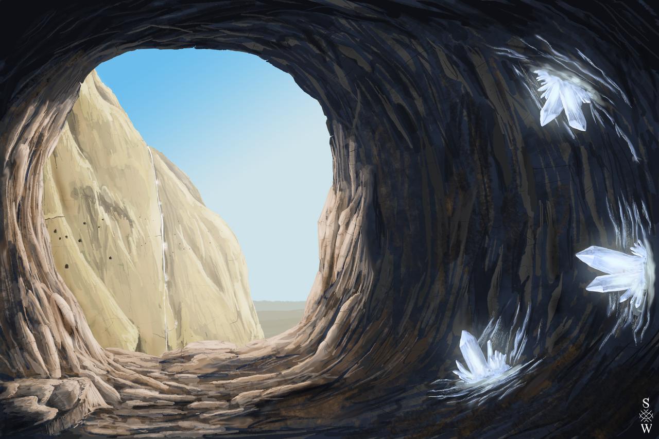 Mountain Cave by Glaiceana