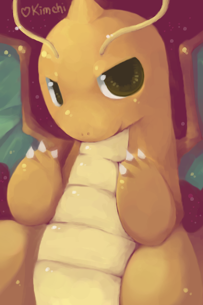 Dragonite by Kaya--chan