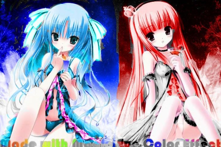 Anime Opposite Twins Pictures, Images & Photos - Photobucket