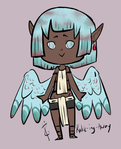 OPEN Fantasy Angel Adopt