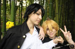 A smile to remember - Dino x Hibari Cosplay