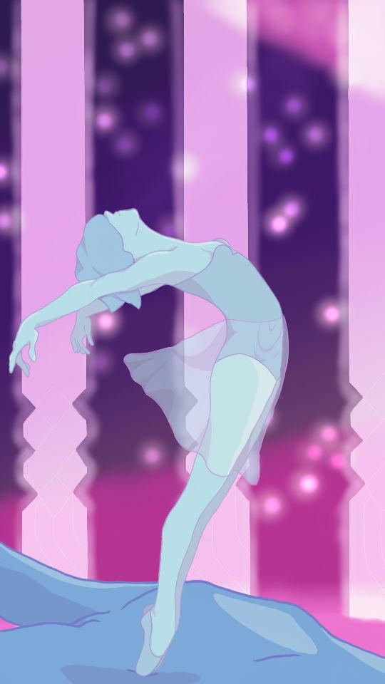 Blue Pearl Dancing