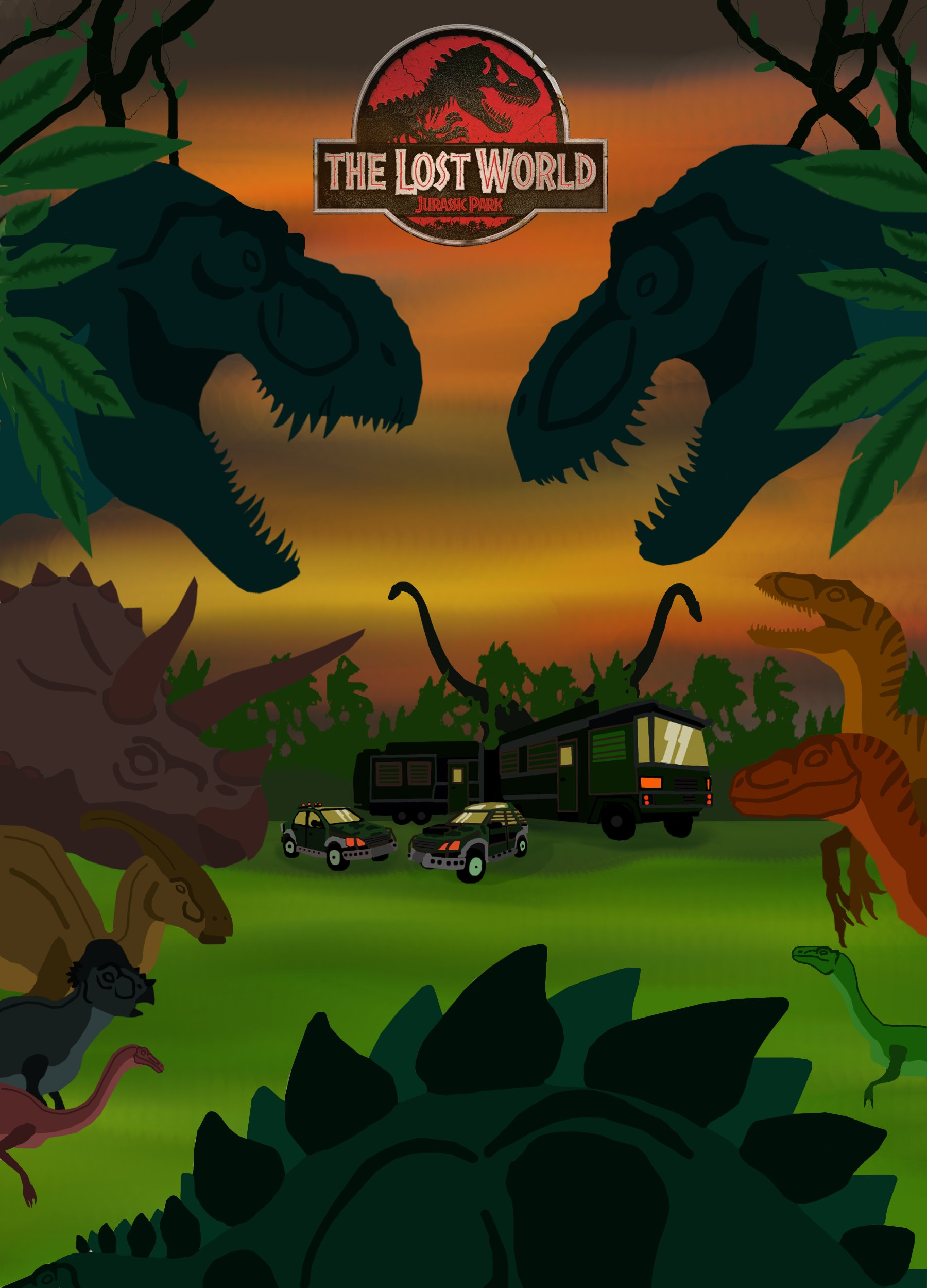 The Lost World Jurassic Park By Pepsilver On Deviantart