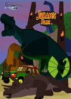 Jurassic Park by pepsilver