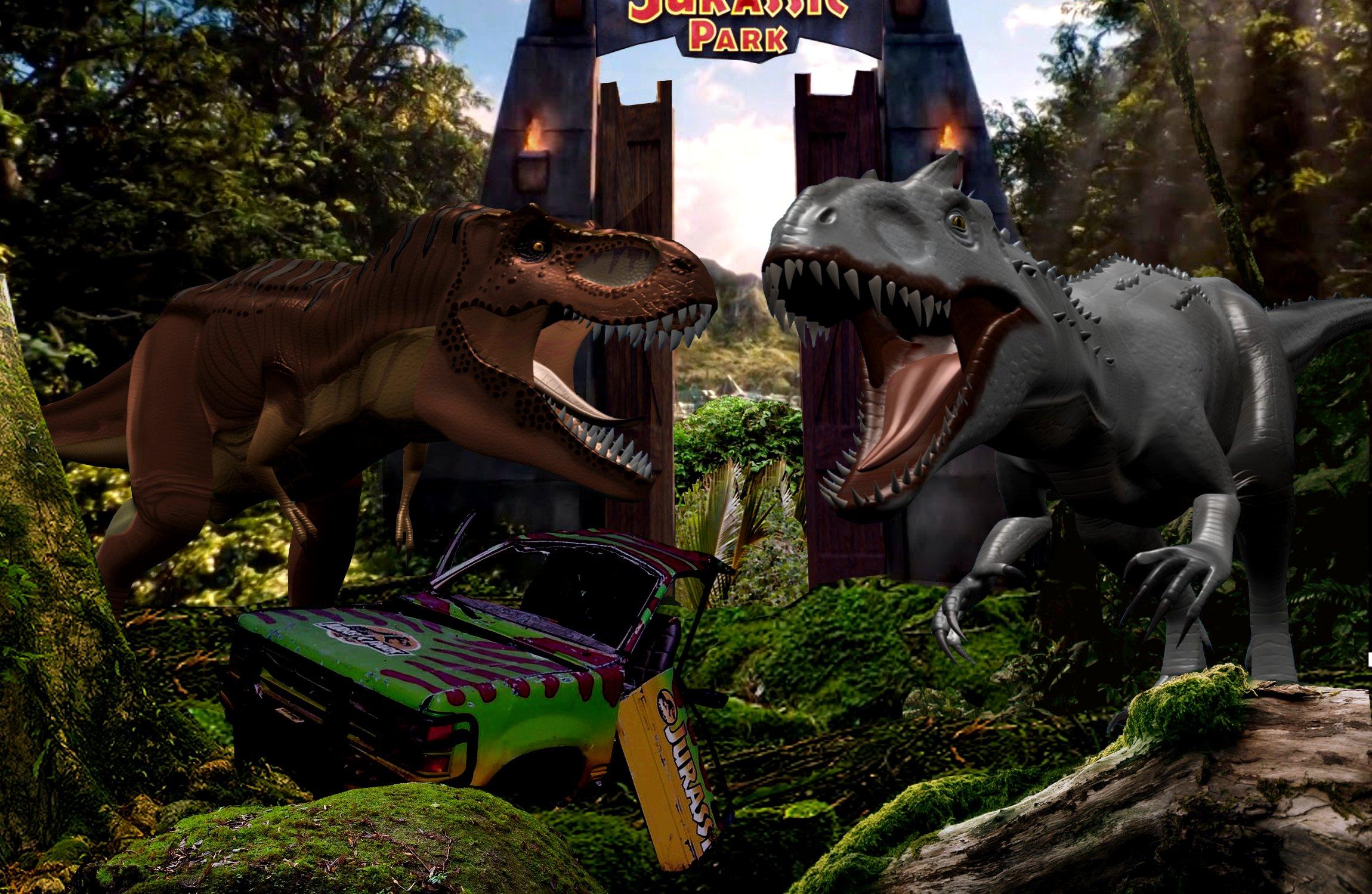 Wall Stickers Dinosaurs Tyrannosaurus Rex And Indominus Rex By Pepsilver On Deviantart