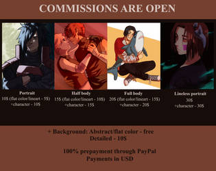 Commissions are open by VitaDiFata