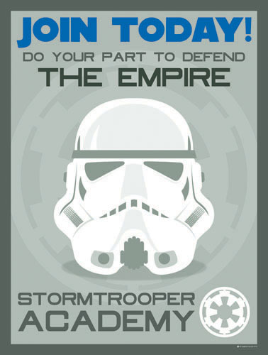 Stormtrooper Recruitment by taggraphics