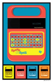 Speak and Spell Poster