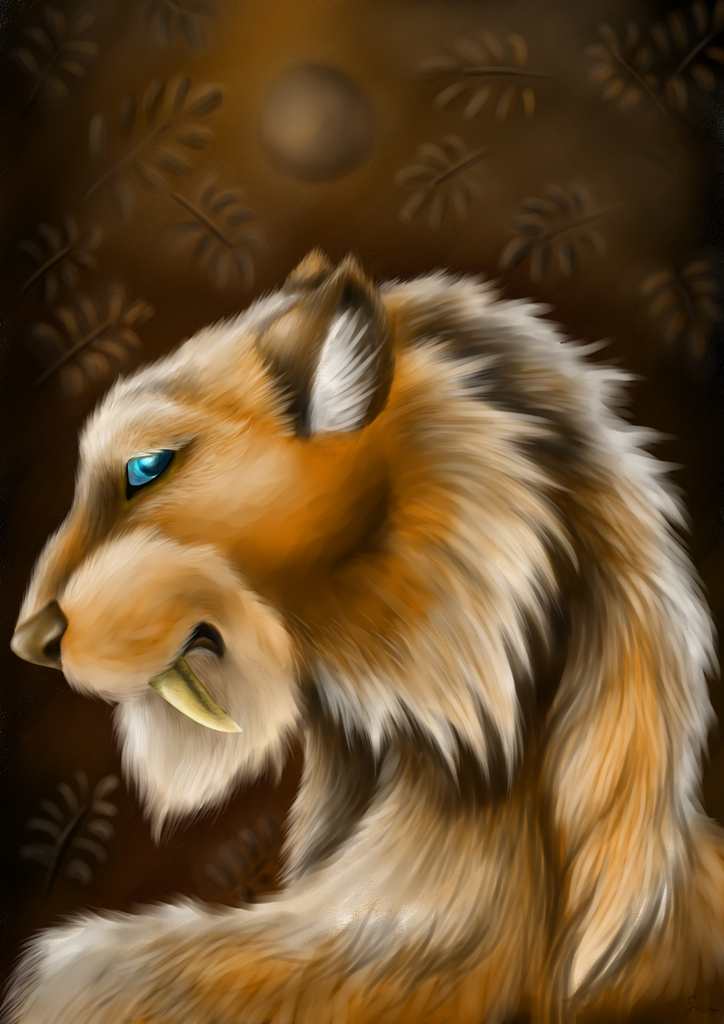 Young Sabretooth Shaman by Snega-re-Scardlieng