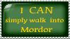 Mordor stamp by Daytha