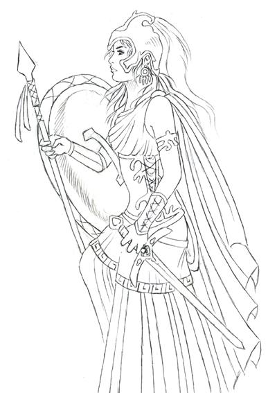 Athena by Daytha