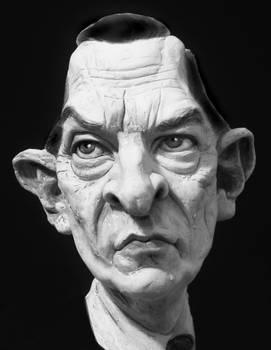 Jeremy Brett as Sherlock Holmes - caricature