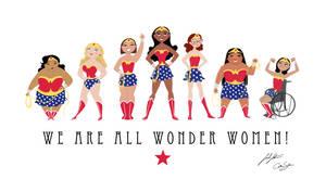 We Are All Wonder Women! by SarahSatrun
