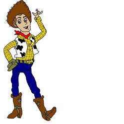 Woody : MS Paint by MeridaStirling