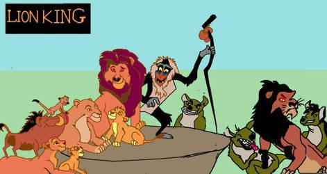 Lion King : MS Paint