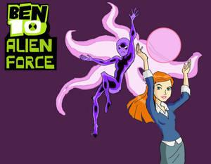 Ben10 Alien Force : MS Paint