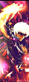 K' Vertical Tag (King of Fighters) by consumedbyvacuity