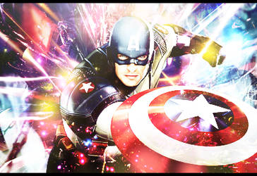 Captain America Tag by consumedbyvacuity