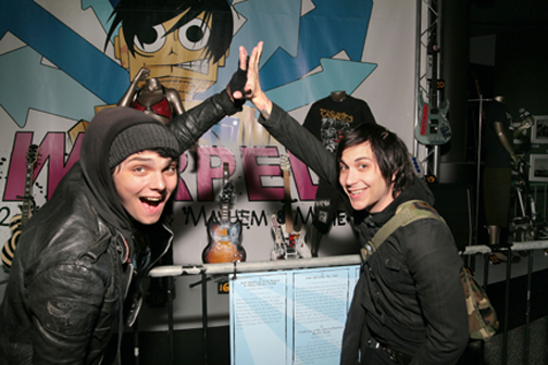 Frank Iero and Gerard Way by frank-iero-is-my-luv on ...