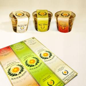 Sun 4 Olives - Label