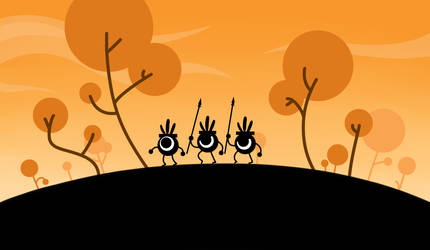 Patapon Background by katrinpafford