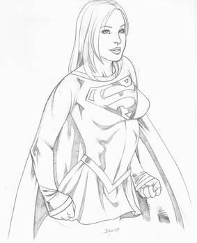 My Supergirl sketch