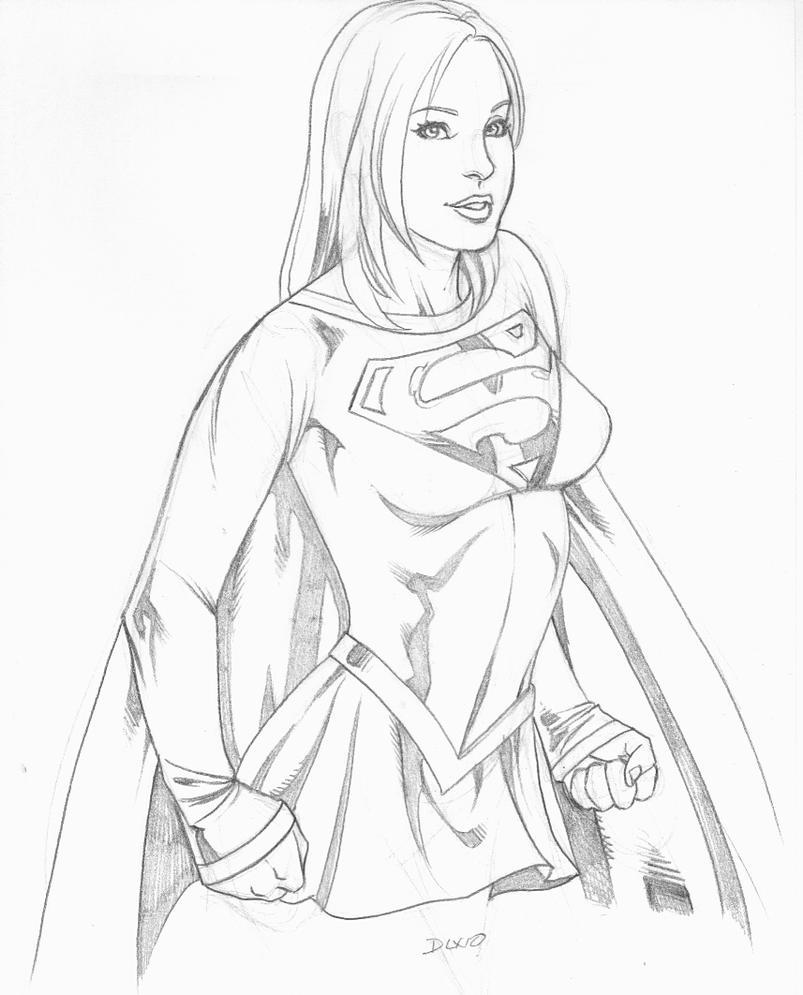 supergirl drawings comic - photo #29